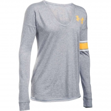 Women's Volleyball Cotton Modal LS Top by Under Armour