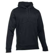 Fleece Icon Hoodie - Men's-Black-M