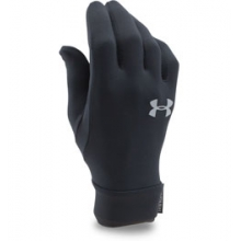 UA Core Liner Glove - Youth - Black/Steel In Size: Medium