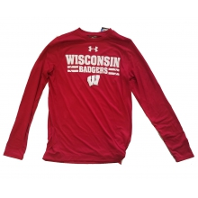 Men's UW Madison Tech Tee - Long Sleeve by Under Armour