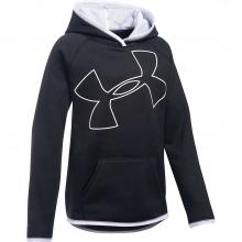 Girls' UA Armour Fleece Highlight Hoodie by Under Armour