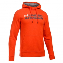 Men's Triblend Wordmark Pullover Hoodie by Under Armour
