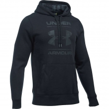 Men's Rival Camo Blocked Logo Pullover Hoodie by Under Armour