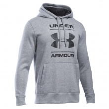Men's Storm Rival Cotton Graphic Pullover Hoodie by Under Armour