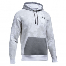 Men's Rival Printed Pullover Hoodie by Under Armour