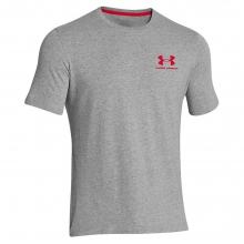 Men's UA Charged Cotton Sportstyle Left Chest Lockup Tee in Logan, UT