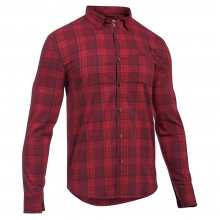 Men's Victor Plaid LS Shirt by Under Armour