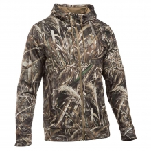 Men's Icon Camo Full Zip Hoodie by Under Armour