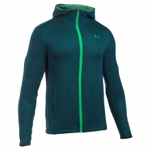 Men's ColdGear Infrared Raid Fitted Full Zip Hoody by Under Armour