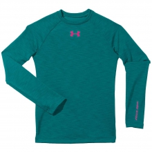 Girls' UA Evo CG Fitted Crew by Under Armour