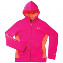 Girls' Armour Fleece Storm Full Zip Hoody by Under Armour