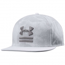 Camo Flat Brim Hat