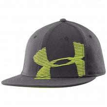 UA Cropped Logo Flat Brim Hat by Under Armour