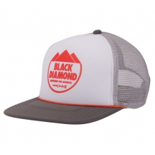 Flat Bill Trucker Hat by Black Diamond
