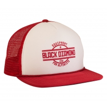Flat Bill Trucker Hat by Black Diamond in Lewis Center Oh