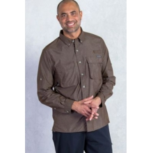 Men's Air Strip Long Sleeve Shirt by ExOfficio in Edwards Co