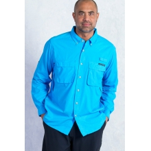 Men's Air Strip Long Sleeve Shirt by ExOfficio in Ramsey Nj