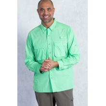 Men's Air Strip Long Sleeve Shirt by ExOfficio in Charlotte NC