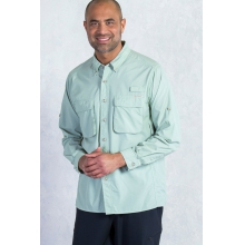 Men's Air Strip Long Sleeve Shirt by ExOfficio in Alpharetta Ga