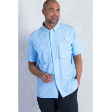 Men's Air Strip Short Sleeve Shirt by ExOfficio in Delafield Wi
