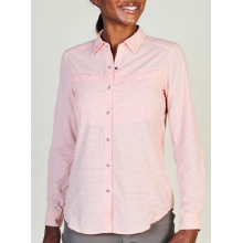 Women's Bugsaway Halo Check Long Sleeve Shirt by ExOfficio in Edwards Co
