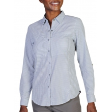 Women's Bugsaway Halo Check Long Sleeve Shirt by ExOfficio