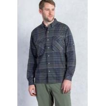 Men's Air Strip Macro Plaid Long Sleeve Shirt by ExOfficio in Bowling Green Ky