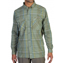 Air Strip Macro Plaid Long Sleeve Shirt by ExOfficio in Chesterfield Mo