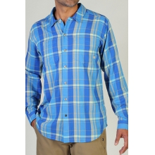 Men's Bugsaway Talisman Plaid Long Sleeve Shirt by ExOfficio in Corvallis Or