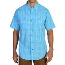 Men's Contour'D Plaid Short Sleeve Shirt by ExOfficio in Wakefield Ri