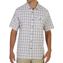 Men's Quadrant Plaid Short Sleeve Shirt by ExOfficio in Succasunna Nj