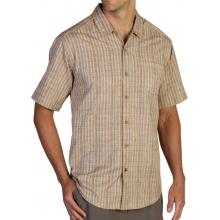 Men's Mundi Jacquard Short Sleeve Shirt by ExOfficio in Succasunna Nj