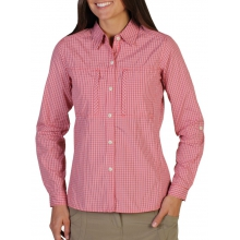 Women's Drylite Check Long Sleeve Shirt by ExOfficio in Edwards Co