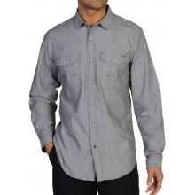 Men's Ferrara Chambray  Shirt by ExOfficio in Succasunna Nj