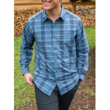 Men's Arabica Plaid Long-Sleeve by ExOfficio in Lake Geneva Wi