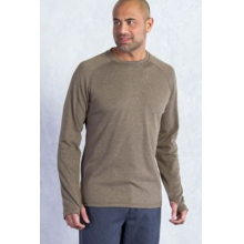 Men's Javano Crew Long Sleeve Shirt by ExOfficio