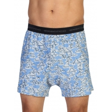 Men's Give-N-Go Printed Boxer by ExOfficio in Marietta Ga