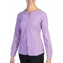 Women's Dryflylite Blouse Long Sleeve Shirt by ExOfficio in Santa Barbara Ca