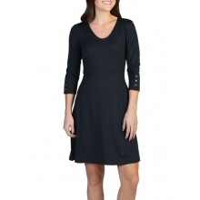 Women's Wanderlux 3/4 Sleeve Dress by ExOfficio