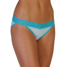Women's Give-N-Go Lacy Low Rise Bikini Brief by ExOfficio in Park City UT