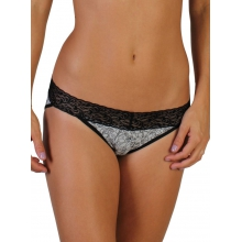 Women's Give-N-Go Printed Lacy Low Rise Bikini Brief by ExOfficio