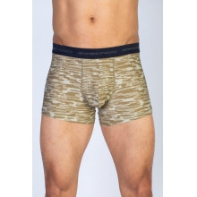 Men's Give-N-Go Printed 3'' Boxer Brief by ExOfficio in Birmingham Mi
