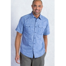 Men's Chamblin Short Sleeve Shirt by ExOfficio in Covington La