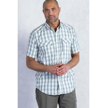 Men's Lodestone Plaid Short Sleeve Shirt by ExOfficio in Covington La