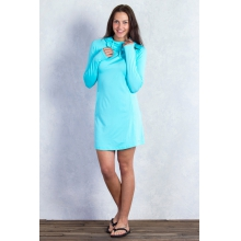Women's Sol Cool Hoody Dress by ExOfficio in Sarasota FL