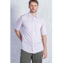 Men's Corsico Check Short Sleeve Shirt by ExOfficio in Santa Barbara Ca