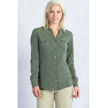 Women's Kizmet Long Sleeve Shirt by ExOfficio in Atlanta Ga