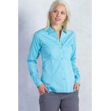 Women's Lightscape Digi-Stripe Long Sleeve Shirt by ExOfficio in Santa Barbara Ca