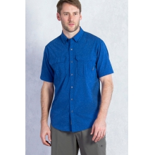 Men's Air Space Short Sleeve Shirt by ExOfficio in Park City Ut