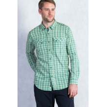 Men's Sol Cool Cryogen Plaid Long Sleeve Shirt by ExOfficio in Lake Geneva Wi
